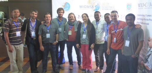 Rencontre des membres de Mikaroka lors du dernier symposium WIOMSA